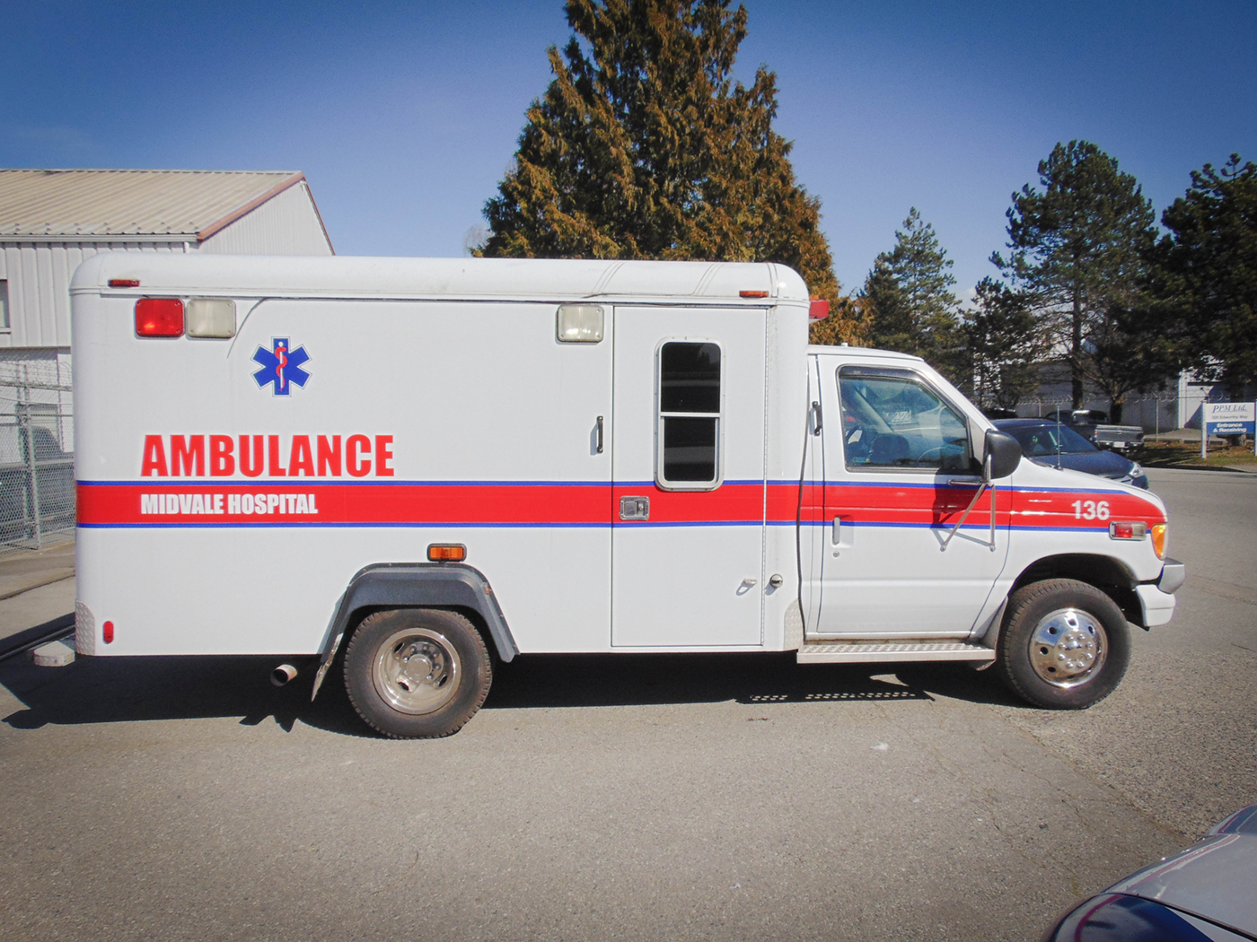 2001 Ford Ambulance Rental