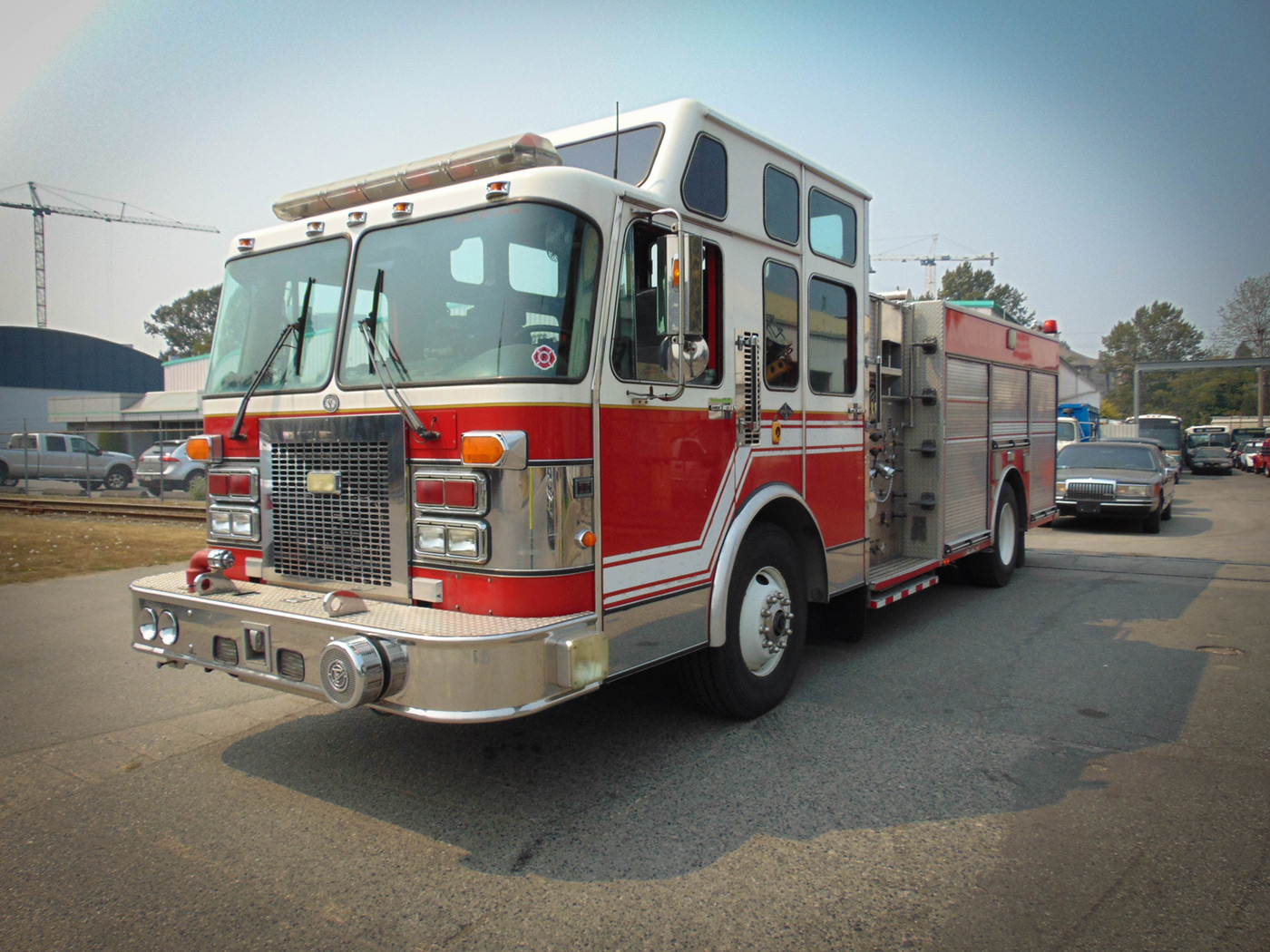 Picture Fire Trucks & Movie Vehicle Rentals